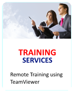 Fingertec Remote Training with Teamviewer